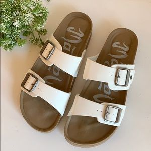 Mad Love Keava Slip-On Sandals - Sz: 6
